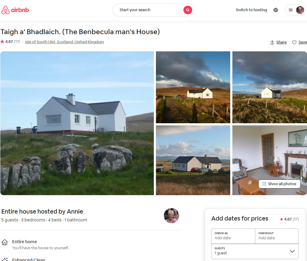 Click here to check availability on AirBnB